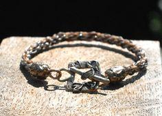 Benutzerdefinierte Rosshaar-Armband Bronze von Enigmahorse auf Etsy