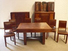1930s Dining Room Set