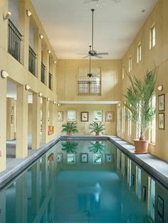 Awesome pool, but reminds me of a hotel...I would redecorate it and add a more cozy, relaxing vibe to it =)