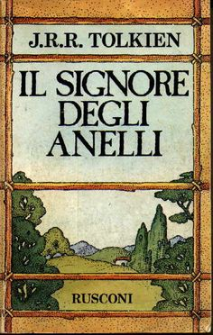 """Lord of the ring"", obviously in this Italian edition.. :)"