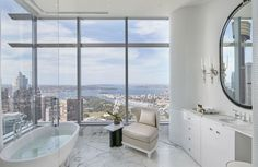 New York City Apartment, Penthouse Apartment, Dream Apartment, Apartment Ideas, Penthouse For Sale, Luxury Penthouse, Apartamento New York, Weatherboard House, International Real Estate