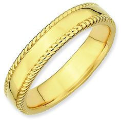 Sterling Silver Stackable Expressions GoldPlated Ring Size 9 ** Continue to the product at the image link.