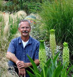 Bob Hyland, peripatetic plantsman & garden designer. Hyland Garden Design Portland, OR