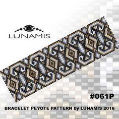 Peyote+bracelet+pattern+peyote+pattern+by+LunamisBeadsPatterns