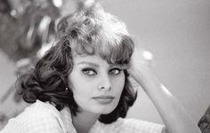 Sophia Loren by Sam Shaw