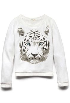 Tiger Eyes Sweatshirt (Kids) | FOREVER21