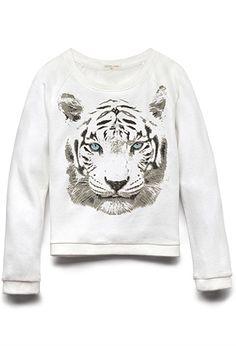 Tiger Eyes Sweatshirt (Kids)   FOREVER21 girls - 2000110746