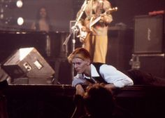 """diamondheroes: """" """"Station to Station tour in Nashville, on march 7th, 1976. """" """""""