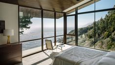 Fall House by Fougeron Architecture - Master Bedroom
