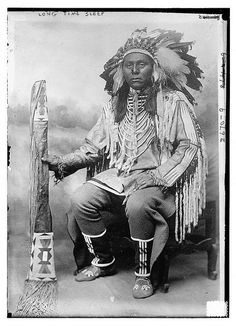 Long Time Sleep - Indian (LOC) by The Library of Congress, via Flickr