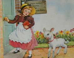 Mother Goose Rhymes Children's Book ~ 1953 ~ Illustrated by Eulalie