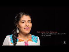 Mujeres poderosas Forbes 2016. Eufrosina Cruz Mendoza - YouTube