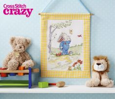 The super-cute Somebunny to Love is enjoying the sunshine in this exclusive project from issue 189