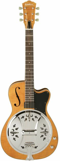 Washburn R60RCE Transparent Honey Round Neck Resonator Acoustic Guitar - On Sale Now $749.00