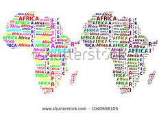 Sketch african letter text continent, African word - in the shape of the continent, Map of continent Africa - vector illustration Map Of Continents, African Words, Sketch, Shape, Stock Photos, Lettering, Illustration, Sketch Drawing, Sketches