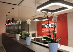 - HEYLEN vastgoed -  #INARTO #DARK #Prolicht  #concept office #lighting  #project at Herentals BE  [www.heylenvastgoed.be]