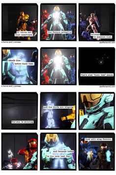 Oh no you didn't son. Oh no you didn't...  Red vs Blue: Season 13 Episode 20 - The End #RvBspoilers