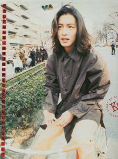 Takuya Kimura, Aesthetic People, Beautiful Long Hair, Japanese Artists, Asian Boys, Haircuts For Men, Pretty Boys, Cute Guys, Actors & Actresses