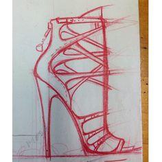 Ideas ideas.. #michaelgreyfootwear #sketch #heels #shoes #fashion #footwear #design #mgnyc #