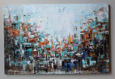 Pintura ORIGINAL pintura abstracta abstracto arte abstracto