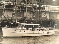 Motor Cruiser, Classic Wooden Boats, Deck Boat, Old Boats, Boat Design, Motor Boats, Rivers, Sailing, Irish