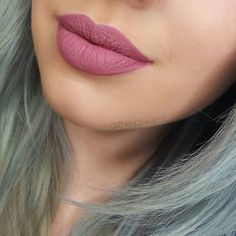 ColourPop Ultra-Matte Liquid Lipstick in Clueless. Smilar to Anastasia Beverly Hills Dusty Rose Dupe Lip Makeup, Makeup Tips, Beauty Makeup, Hair Beauty, Makeup Tutorials, Kylie Lip Kit, Colourpop Cosmetics, How To Line Lips, Makeup Swatches