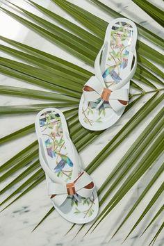 afa3d540d2d3c Put your best foot forward with Ted s stylish flip flops.  flipflopsshoes  Bass Shoes