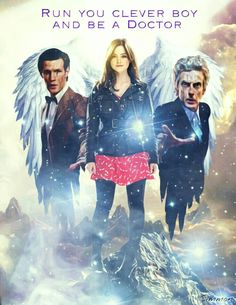 DOCTORS 11 AND 12 WITH CLARA OSWALD.