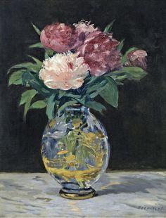 Edouard Manet - Bouquet de pivoines