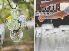 Woodland Fields Photography   Tallahassee Wedding Photographer   Piece of Cake Wedding Planning   bride portraits   blue wedding flats   colorful bouquet   pink yellow blue green cream blue purple   craft beer reception