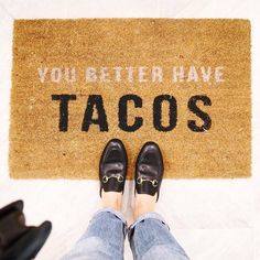 Say hello to Saturday night with the perfect welcome a la @ericaaulds's @liketoknow.it.home find and chic shoes to match   Get ready-to-shop #LTKhome details with www.LIKEtoKNOW.it   #tacos http://liketk.it/2pNwm #liketkit