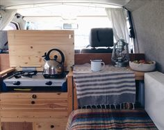 Our homemade VW T4 Transporter Eurovan campervan @nataliecoe_