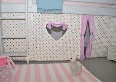 Gardinen & Vorhänge - ♥ - Hochbettvorhang für das Hochbett - ein Designerstück von sincerelyyours bei DaWanda