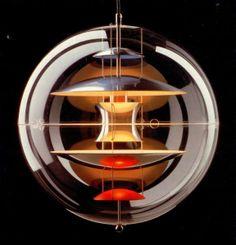 Globe lamp · Verner Panton (1969)