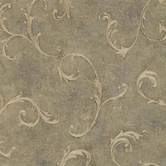 Moss Bayley Scroll  Wallpaper