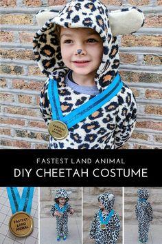 ecd412a5acbe DIY Kids Cheetah Halloween Costume for Boys. Kids Cheetah CostumeLeopard  HalloweenHalloween KidsAnimal Halloween CostumesHalloween ...