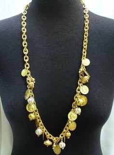 Pirate coin necklace Pirate Coins, Coin Necklace, Making Ideas, Pirates, Jewelry Making, Booty, Fashion, Moda, Swag