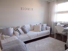 my home, white, grey, decoration