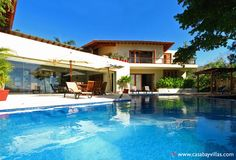 VILLA AURORA - This 7000 square foot vacation rental is located in the Roachos in Punta Mita. This beachfront villa features spectacular views of the Marietas Islands and a pristine white sandy beach just steps away from this Punta Mita villa rental.