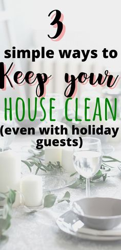 These clean house tips include a daily cleaning checklist that'll teach you how to keep a clean house even with kids. | Quick cleaning schedule | Clean house hacks | Clean house fast | Tips for keeping a clean house | Clean house schedule daily routine | Sahm schedule daily routine for a clean house