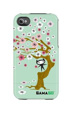 Uncommon LLC Gama Go Blossoms Capsule Hard Case for iPhone 44S  Retail Packaging -- You can get additional details at the affiliate link Amazon.com.