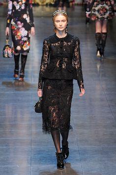 Coleção // Dolce & Gabbana, Milão, Inverno 2012 RTW // Foto 68 // Desfiles // FFW