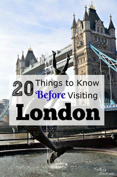 20 Things to Know Before Visiting London: Tips for Visiting the UK
