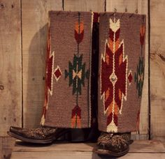 Boot rugs can transform the look of your existing boots. Easily slip them over the top to change your look.