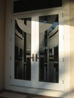 Glass Panel Interior Doors Modern Tri Lite Milano Interior Doors