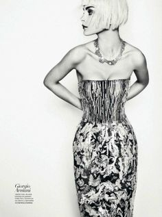 Aquellos Locos | Jessica Stam | Txema Yeste #photography | Harper's Bazaar Spain March 2012. One of my favorite models.