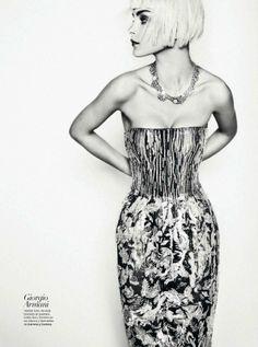 Aquellos Locos | Jessica Stam | Txema Yeste #photography | Harper's Bazaar Spain March 2012. One of my favorite models.