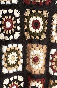 Ideas For Crochet Granny Square Vest Blankets Cardigan Au Crochet, Gilet Crochet, Crochet Wool, Crochet Motifs, Crochet Jacket, Crochet Squares, Crochet Shawl, Crochet Stitches, Crochet Patterns