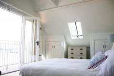 Serene sea views from your bedroom at The Boat House
