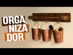 DIY - ORGANIZADOR Banheiro & Cozinha | Diycore - YouTube